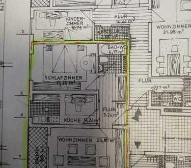 2-Zimmer-ETW für Eigenutzer oder zur Kapitalanlage inkl. Garage