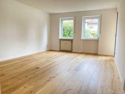 Erstbezug nach Sanierung: 3-Zimmer-Hochparterre-Wohnung mit Balkon in Kolbermoor