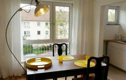 50733 Nippes MÖBLIERT: Luxuriös saniert, neue Möbel, 2 Zimmer, offene Küche, Bad, löffelfertig