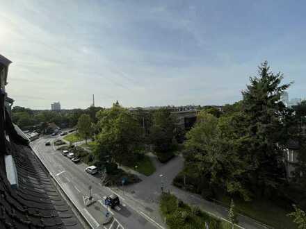 Über den Dächern von Offenbach; Gepflegte 3-Zimmer-Wohnung mit Balkon und EBK in Offenbach