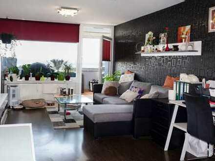 Gemütliche 2 Zimmer Wohnung mit großem Sonnenbalkon