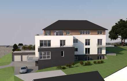 Wohnen direkt an der Schwarzbachtrasse - Große Wohnung mit eigenem Garten in exklusivem MFH