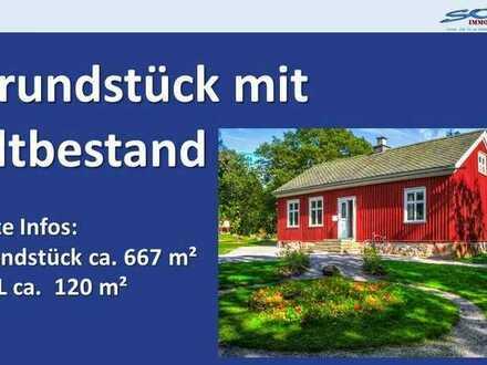 Stadtnah! Grundstück mit Altbestand in Schrobenhausen - Ein Objekt von Ihrem Immobilienpartner in...