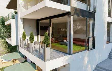 Moderne EG 3 Zi Wohnung mit Südbalkon