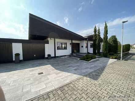 Exklusiver Bungalow mit großem Grundstück in Linkenheim!