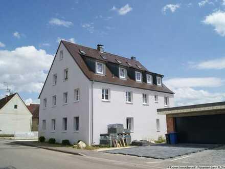 Helle 3 Zimmer-Wohnung mit Einbauküche in Hörvelsingen