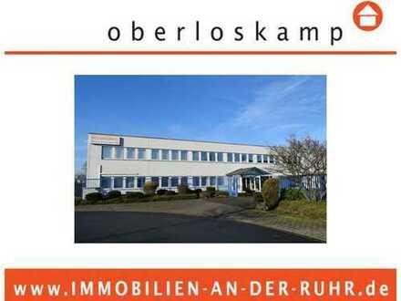 Top ausgestattete Halle (ebenerdig & Rampenandienung) Büro & Freifl. im Städtetriangel Ddorf, DU &MH