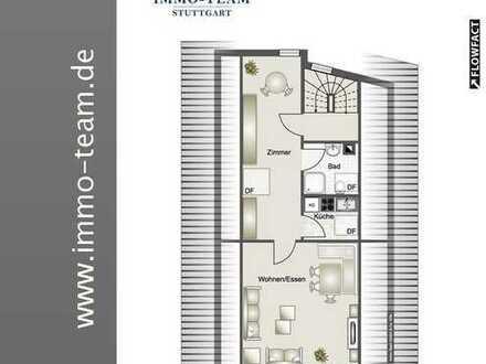 +++helle kleine DG-Wohnung mit pfiffigem Schnitt+++