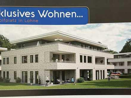 Moderne 3-Raum-Wohnung mit Balkon und Einbauküche in Lohne