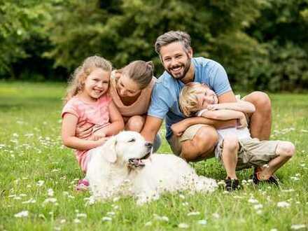 Kinder & Haustiere erwünscht. Mit Miete Eigentum schaffen!