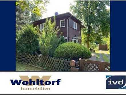 Neu! Schildow - Denkmalgeschütztes Einfamilienhaus in traumhafter Lage direkt am Fließtal