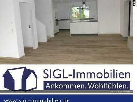 Zur Vermietung kommt hier ein exklusives Kettenhaus mit 5,5 Zimmern auf 2 Etagen.