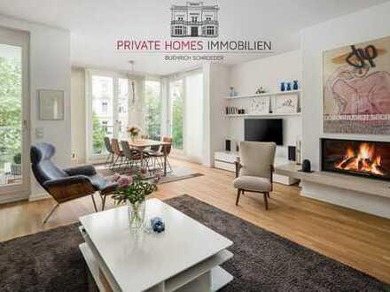 Moderne Wohnung in begehrter Lage von Pöseldorf