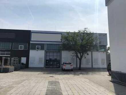 885 m² Lagerhalle mit großzügigen Freiflächen in Dreieich!