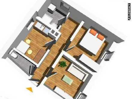 Geräumige 2 Zimmer-Wohnung in zentraler Lage