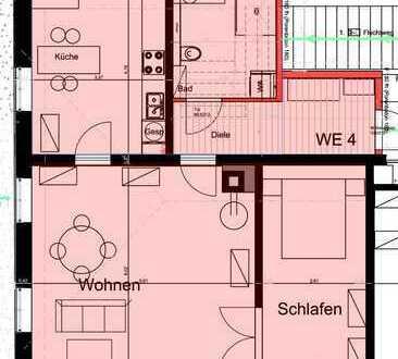 Schöne, geräumige zwei Zimmer Wohnung auf Schloss Mühlen, Horb am Neckar