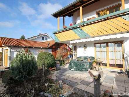 Wieder da! Helle Doppelhaushälfte mit Garage, Ofen und Terrasse in Krugzell