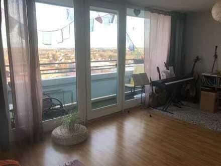Gut geschnittenes Apartment mit wunderschöner Aussicht