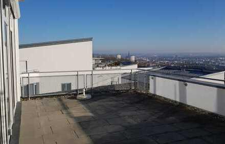 Ulm Eselberg, Maisonette-Wohnung mit traumhaften Blick über Ulm bis ins Allgäu