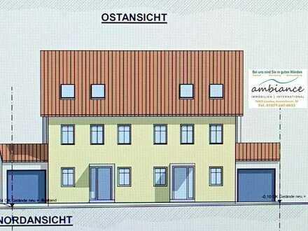 Doppelhaushälfte mit südlichem Flair, Neubau. Eigenleistung möglich.