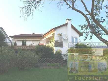 1-Familienhaus mit Einliegerwohnung und offenem Kamin und 2 Garagen, ruhige Lage Pforzheim Ortste...