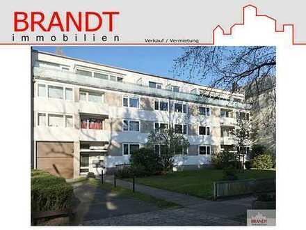 Moderne Endetagenwohnung in Uhlenhorst mit 2 Balkonen, Fahrstuhl und Tiefgarage!