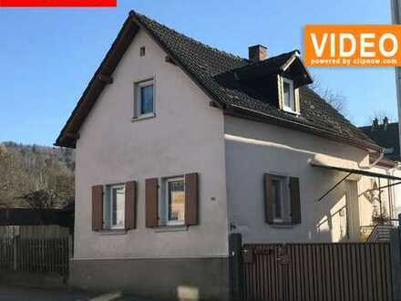 Gemütliches, altes Haus - direkt an der Lauter - mit gr. Balkon, Potential + Renovierungsbedarf!