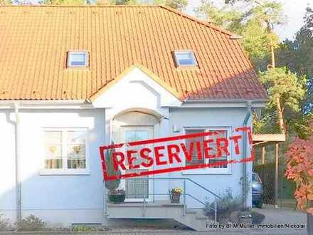 """Lichtdurchflutete Doppelhaushälfte in Schenkendorf """"am Rand"""" von Königs Wusterhausen"""
