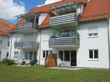 Neuwertige Wohnung 3ZiKB mit Balkon in Ulm-Lehr, 81,5 qm und TGSP