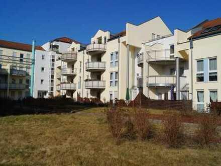 ruhige 2-Zi.-Wohnung mit großem Balkon, Fürstenwalde
