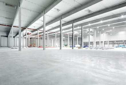 """BAUMÜLLER & CO."" - LOGISTIK-NEUBAU - ca. 15.000 m² - Rampe"