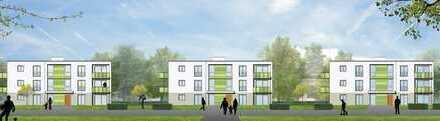 Moderne Wohnungen in grüner Umgebung