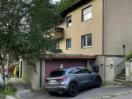 Gepflegte 2-Zimmer-Wohnung mit Balkon und Einbauküche in Hornberg
