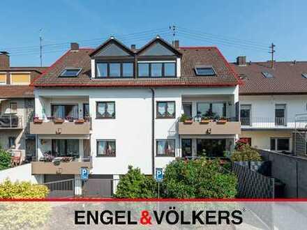 Helle 5 ZKB-Whg mit Wintergarten und Garage!