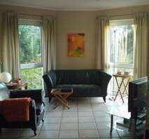 4 sonnige Zimmer mit 2 Balkonen, Zugang zum Garten in SW-Lage, im Grünen in Wilhelmsfeld