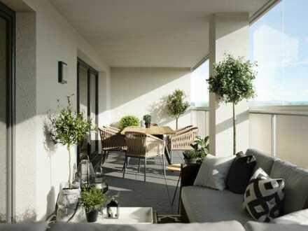Beste Aussichten: Großzügige 3-Zimmer-Wohnung mit Dachterrasse - WE212