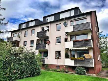 Bezugsfrei kurzfristig: 3 ZKB-Dachgeschosswohnung in Dietrichsfeld, sehr ruhige Wohnlage!