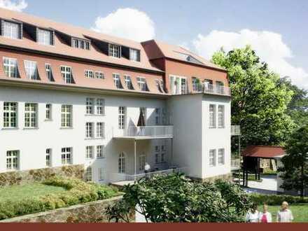 Dachterrasse - 2 Zimmer -2 Bäder zum Erstbezug (WE 53)