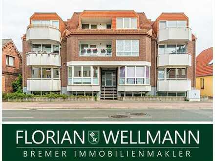 Bremen - Rönnebeck | Großzügige und helle Wohnung, nähe der Weser, in ruhiger Lage!!!