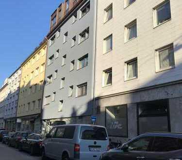 Schwanthalerhöhe, gehobene und helle 2.Zi Wohnung m. Südbalkon, möbliert