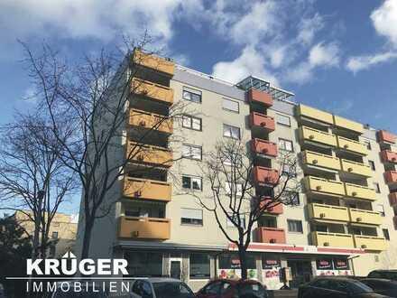 KA-Neureut / gemütliche 1-Zi-Whg mit Balkon, Küchenzeile und KFZ-Stellplatz / ab sofort frei!