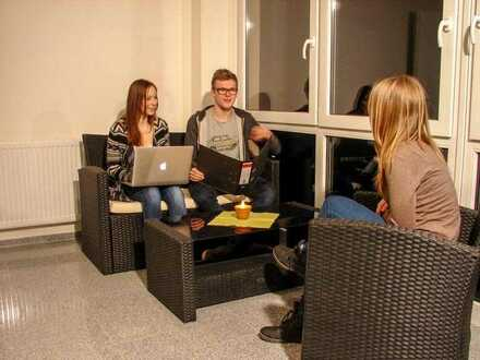WG-Zimmer mit eigenem Balkon frei in moderner Studentenresidenz / int. Boardinghouse nahe RWH in Kün
