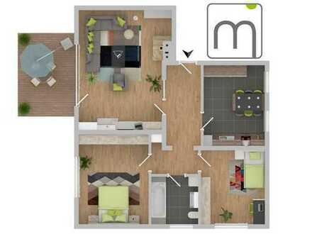 3 Zimmer mit Terrasse, Garage - Wohnen in der Urlaubsregion!
