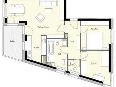 Stilvolle 3,5-Zimmer-Wohnung mit Balkon und Einbauküche in Heidelberg Bahnstadt