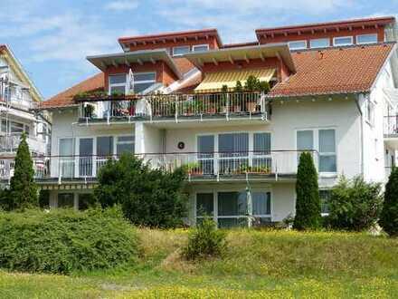 Wohnen mit Blick ins Grüne und großem Balkon
