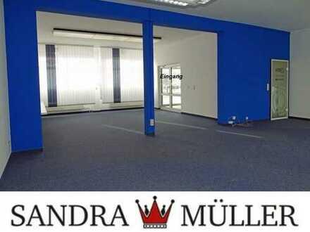 Ebenerdige Gewerbeflächen: Büro - Ausstellung - Werkstatt