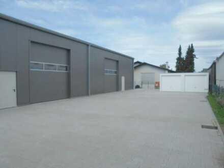 Große Lagerhalle (Neubau) im Industriegebiet in Eggenstein!