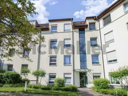 Bewohntes 2-Zimmer-Apartment mit Balkon in Toplage von Werder (Havel)