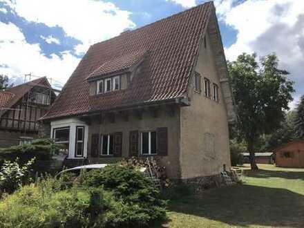 Haus mit Grundstück am Wasser