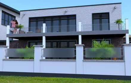 *Reserviert* Neubauvorhaben Erdgeschosswohnung mit Garten KfW 55 - Ganderkesee Zentrum